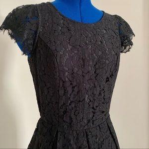 ASOS Signature 8 Backless Lace Dress POCKETS M